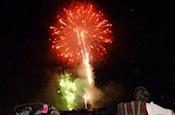 Fireworks at BAC