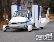 The Flying Car Takes Off--Meet the Transition� Street-Legal Airplane